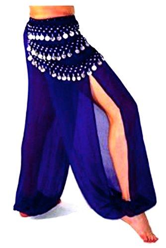 Bauchtanz Kostüme Über (Bauchtanz Harem Hose zum Tanzen Tribal Tänzer Kostüm Yoga FANCY KLEID Leggings M L XL)