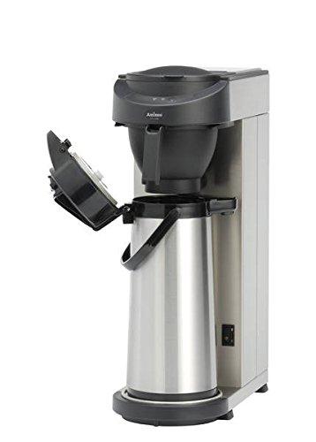 Animo MT 100 Edelstahl Kaffeemaschine für Pumpkanne 2,2L, Tropfschutz, Signal, Entkalkungsanzeige