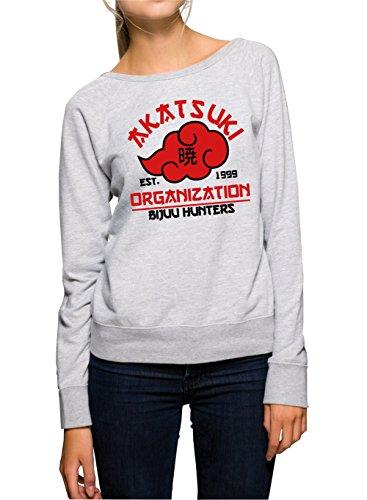 Akatsuki Organization Sweater Girls Grey Certified Freak-S