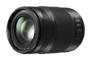 Panasonic H-HS35100E LUMIX G X Vario Telezoom 35-100 mm F2.8 Objektiv (70-200 mm KB, Power O.I.S. Bildstabilisator, Staub-/Spritzwasserschutz) schwarz