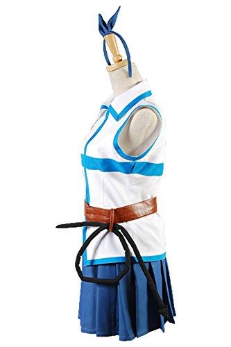 Fairy Tail Lucy Heartfilia Cosplay Kostüm Damen S (Lucy Heartfilia Kostüm)