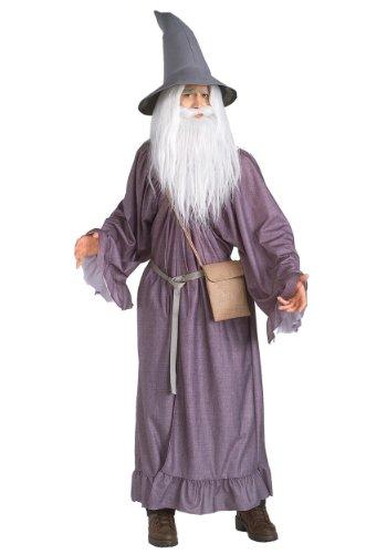 Herr der Ringe Gandalf Kostüm für Erwachsene Karneval Fasching Verkleidung (Der Hobbit Erwachsenen Gandalf Hut)