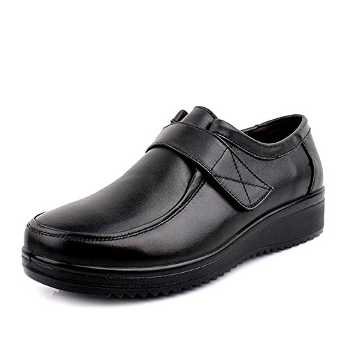 escoge los zapatos/Chaussures de fond mou pour les personnes âgées/Grand moyen et souliers pour dames âgées vieux B