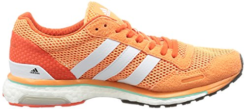 adidas Adizero Adios 3, Running Femme Orange (Easy Orange/ftwr White/energy)