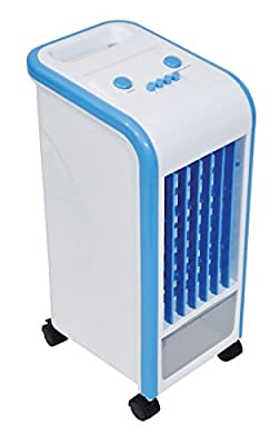 The Prem-I-Air compact Air Cooler is fitted with 3.5L Water Tank and has 3 functions (Low/Mid/High). This portable unit can easily be moved around and is suitable for use in the home or commercial environments such as small offices, shops and workshops.Th