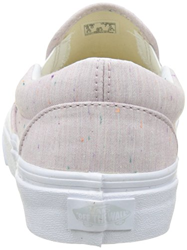 Vans Damen Ua Classic Slip-On Sneakers Pink (Speckle Jersey)
