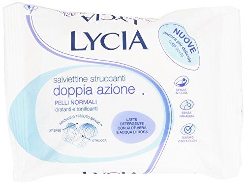 Lycia - Salviettine Struccanti, Idratanti e Tonificanti - 20 pezzi