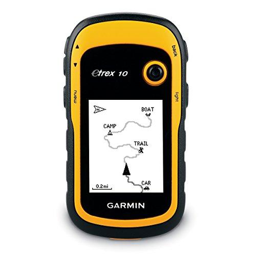 Garmin Etrex 10 - GPS portátil con pantalla transflectiva