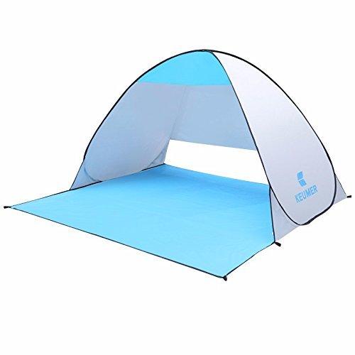 Im Freien Strand Wasserdichtes Zelt, TechCode Automatik Pop Up Sofort Schnell Im Freien Strand Cabana Zelt Sun Shelter Canopy für Reisen Camping Angeln Sport