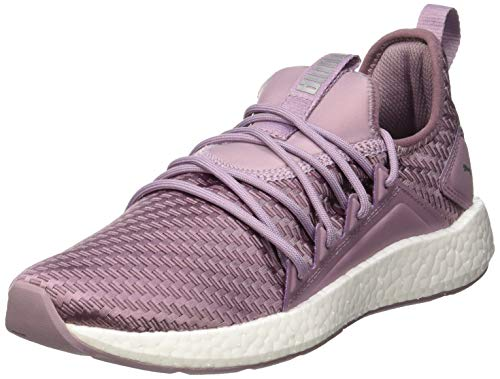 Puma Damen NRGY Neko Cosmic WNS Laufschuhe, Violett (Elderberry White), 39 EU (Nike Frauen Lila Schuhe,)