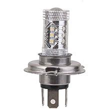 H4 80W CREE LED Cola Bombilla de Niebla Lámpara Luz de Cabeza para Conducción de Coche