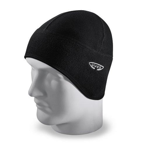 Uvex Wintermütze, verwendbaar als Mütze unter dem Helm, Farbe: schwarz, ergon. geformt, Grösse: L-XL