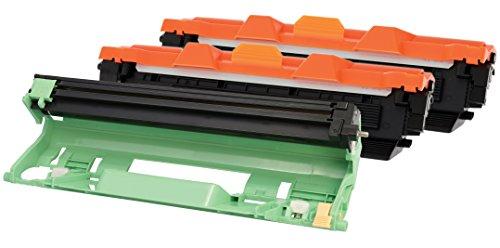 TONER EXPERTE 2 Toner + Tamburo compatibili per Brother TN1050 DR1050 HL-1110 HL-1112 DCP-1510 DCP-1512 DCP-1610W DCP-1612W HL-1210W HL-1212W MFC-1810 MFC-1910W
