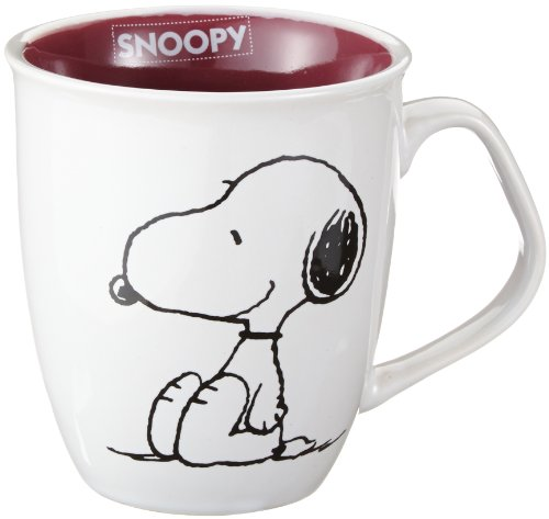 United Labels 0199428 - Jarra de Snoopy, 350 ml (1 unidad) [Importado de Alemania]