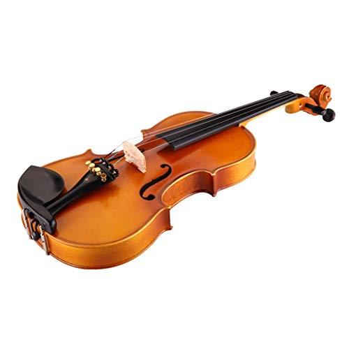 Violini Strumenti Musicali Acero Strumento a Corde per Bambini Professionale Accessori Completi Suono Eccellente Strumenti a Corda (Color : 4/4)