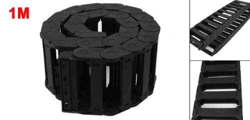 1 m de longueur en plastique noir pour câble souple de frein de chaîne gigognes 100 x 25 mm