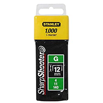 Stanley - 12 mm-Lot de 1000 TRA708T 0