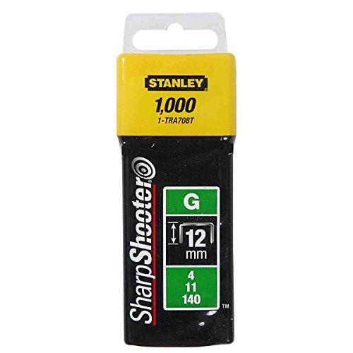 Stanley - 12 mm-Lot de 1000 TRA708T 0