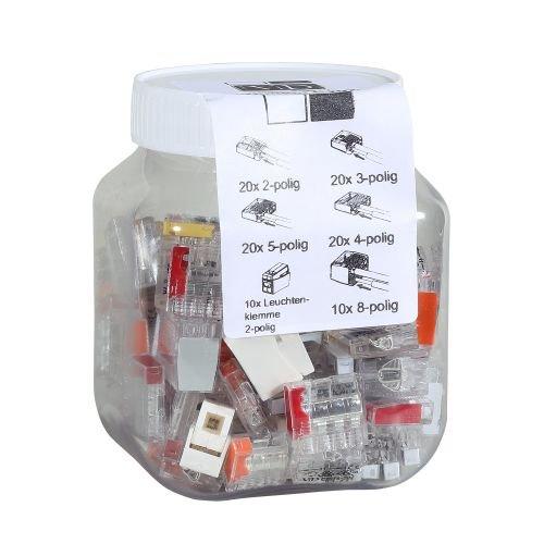 ViD® Steckklemmen I Verbindungsklemmenmix C2073 Box 0,5-2,5 mm² 100 Stück