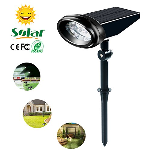 Garden Solar Spot Lights Amazon Co Uk