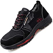 Pleasantly cool Men's And Women's Shoes, Anti-smashing Shoes, Safety Work Shoes, Steel Toes, Kevlar Mi