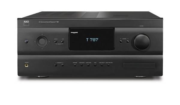 NAD T 787 120W 7.1canali Surround Compatibilit/à 3D Nero ricevitore AV