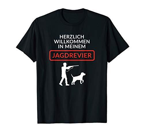 Mann Jäger Kostüm - Herren Jäger T-Shirt Jäger Kostüm Jäger Geschenk