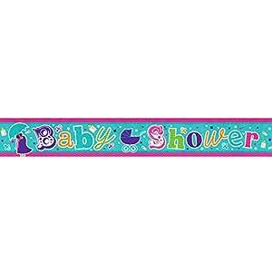 Amscan 9900036, cartel holográfico de 2,7 m para «baby shower»