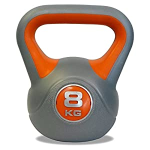 DKN Vinyl Kettle Bell Weight Set - Multicolour, 2 - 8 kg by DKN