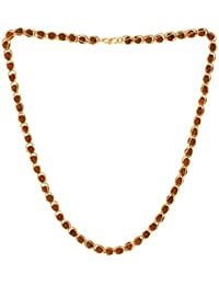 Vook Rudraksha Chain Gift For Men & Women