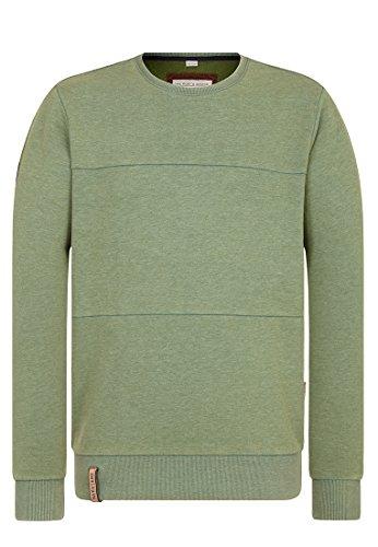 Naketano Male Sweatshirt was Diese Zielgruppe Heritage Pine Green Melange, L Was Herren Sweatshirt