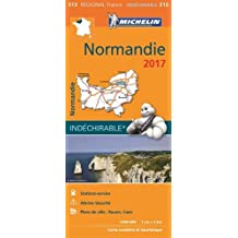 Carte Normandie Michelin 2017