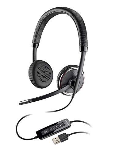 Plantronics C520-M Binaural USB Headset for PC (Certified Refurbished) -