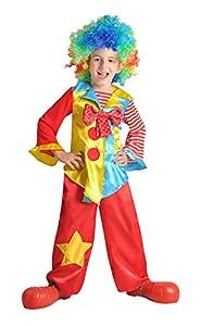 Cesar B388-002 - Disfraz infantil de payaso (5-7 años) , Modelos/colores Surtidos, 1 Unidad