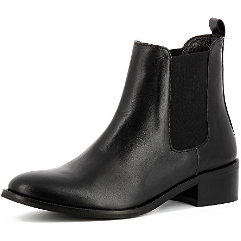 Evita Chaussures Rita Bottines Cavali egrave;res Femme Cuir Lisse - B078B3L4ZC B078B3L4ZC - - e5c90e