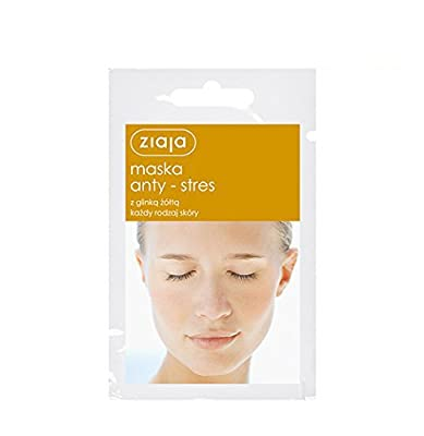 3 X Ziaja Face Mask - Anti-stress - With Yellow Clay - All Skin Types by ZIAJA