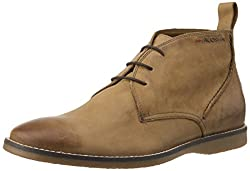 Ruosh Mens MCO - 152 - 01 Tan Leather chukka boot - 11 UK/India (45 EU)(12 US)