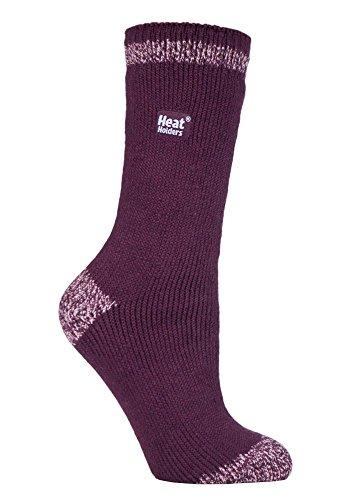 HEAT HOLDERS - Damen Warme Streifen Winter Thermosocken Socken Bunte Muster 37-42 eur (Gilmorton) - Winter-sport-muster-socken