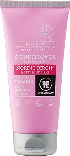 Urtekram Nordische Birke Klimaanlage Bio, Super Feuchtigkeit, 180ml - Kornblume-extrakt