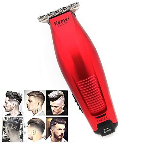Professional Hair Clipper Schnurlos 0 mm Kahlköpfig Haar Barttrimmer Präzision Modellieren DIY Haar Cutter USBHaarschnitt Maschine