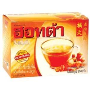 Hotta 210 Grams Net Weight of Ginger Tea Powder Formula Product of Thailand