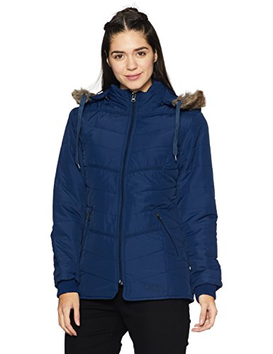 Fort Collins Women's Quilted Synthetic Jacket (89282 AZ_Blue_Large)