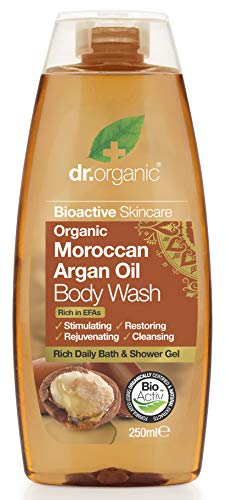 Dr. Organic Argan Body Wash, 250 ml, 1er Pack (1 x 250 ml)