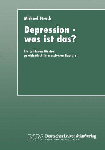 Depression - was ist das?