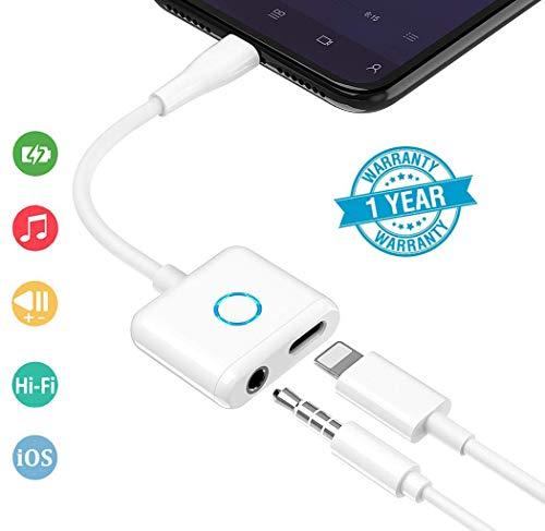 Adaptador Auriculares iPhone X/XS/XS MAX / 8/8 Plus
