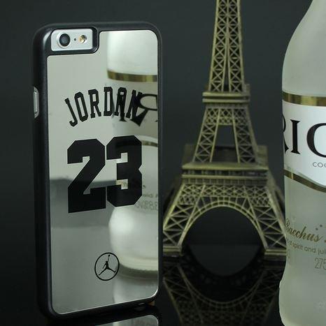 Coque Iphone 5 / 5s / SE Basketball 23 miroir gris