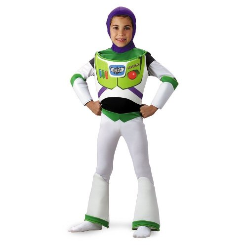 Disguise Inc 6439 Toy Story Disney Buzz Lightyear Deluxe Kinderkost-m-Gr--e 7-8