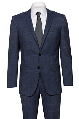BOSS Anzug Huge6/Genius5 für Herren in Blau, - Boss Hugo Smoking