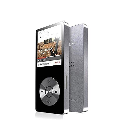 cfzc 8 GB Metall Körper MP3-Player integrierter Lautsprecher Musik Player (Mico SD-Karte erweiterbar auf bis zu 128 GB) mit HD Kopfhörer/Voice Recorder/FM-Radio (Künstler Körper)