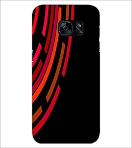 PrintDhaba Pattern D-2019 Back Case Cover for SAMSUNG GALAXY S7 (Multi-Coloured)